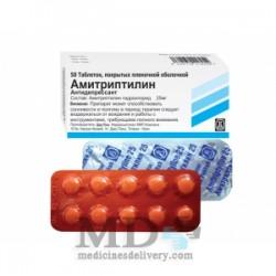 Amitriptyline tabl. 0,025 #50