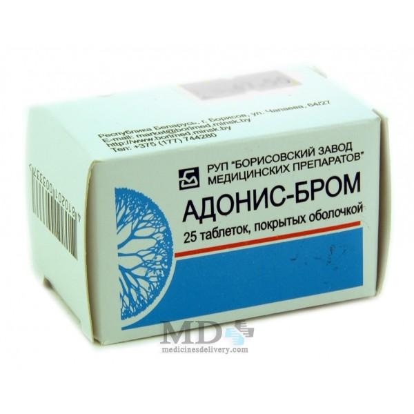 Adonis-brom pills #25