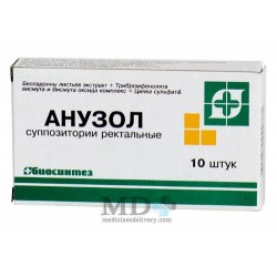 Anuzol suppositories rectal #10