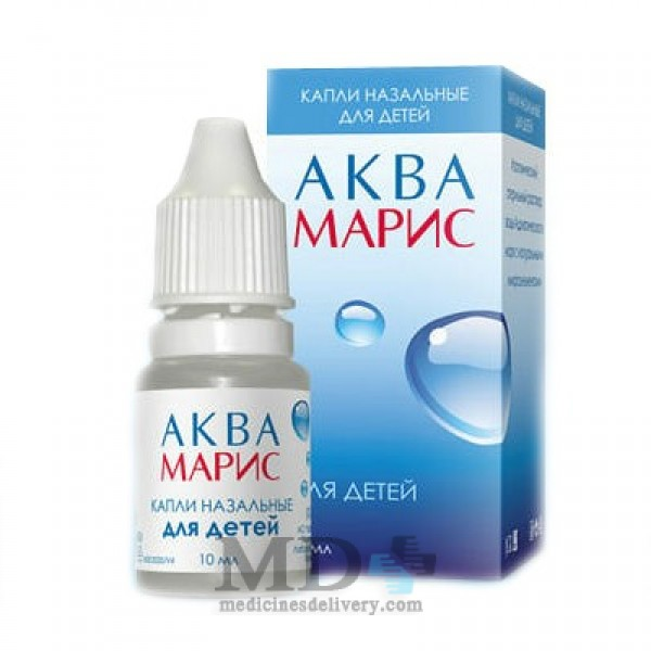 Aqua Maris drops nasal for children 10ml