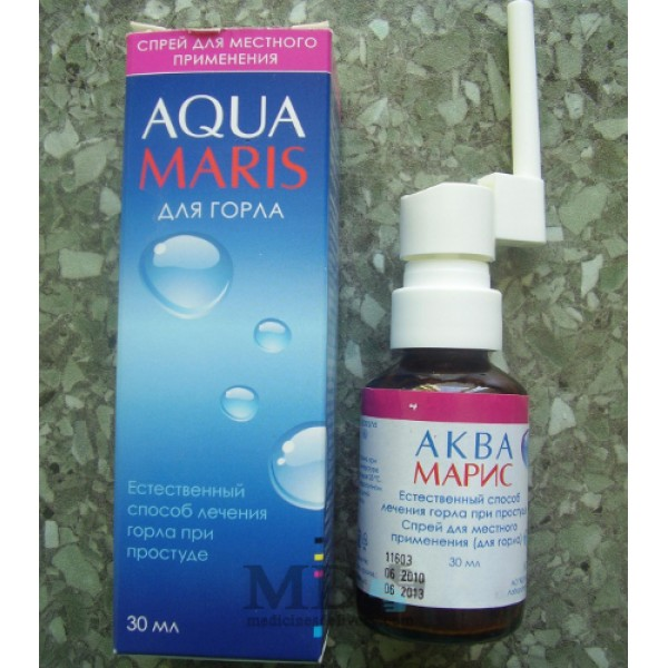Aqua Maris spray for throat 30ml