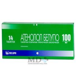 Atenolol tablets 100mg #20