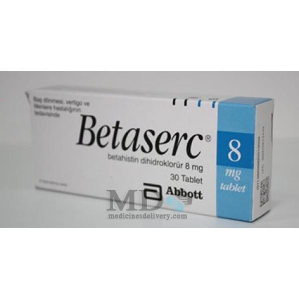 Betaserc tablets 8mg #30