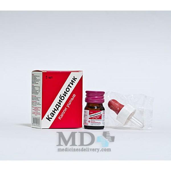 Candibiotic ear drops 5ml