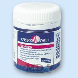 Cardiomagnil Forte (Cardiomagnyl Forte) pills #100