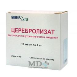 Cerebrolysat solution for inj 1ml #10