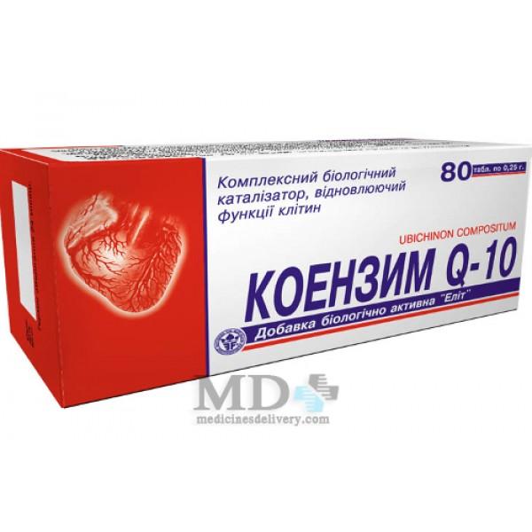 Coenzyme Q10 pills 60mg #30