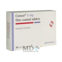Concor tablets 5mg #30