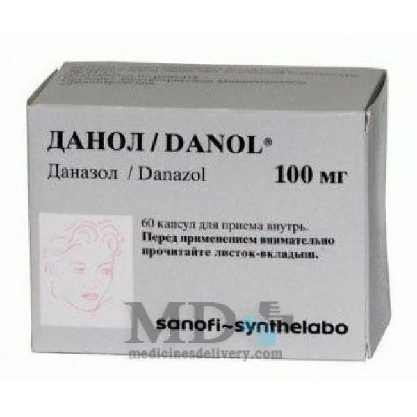 Danazol (Danol) 100mg #60