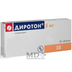 Diroton tablets 5mg #28
