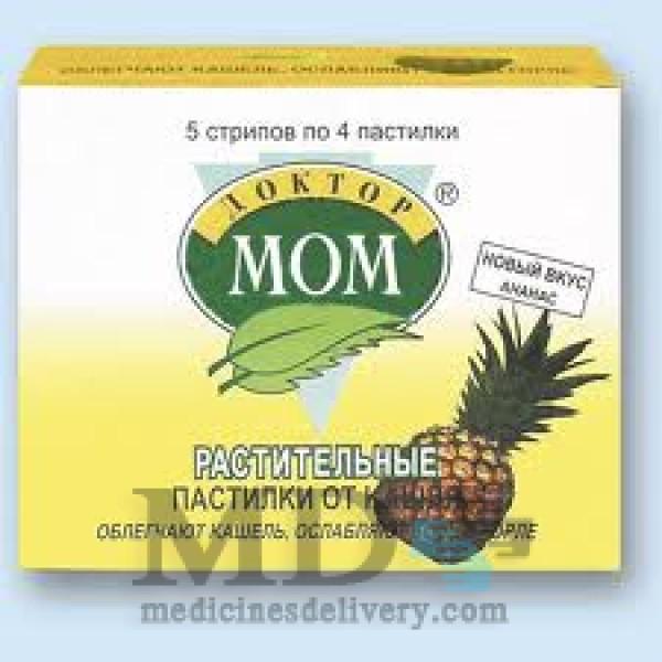Doktor Mom Herbal Cough Lozenges (pineapple) #20