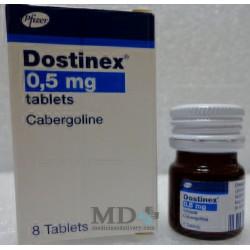 Dostinex tablets 0,5mg #8