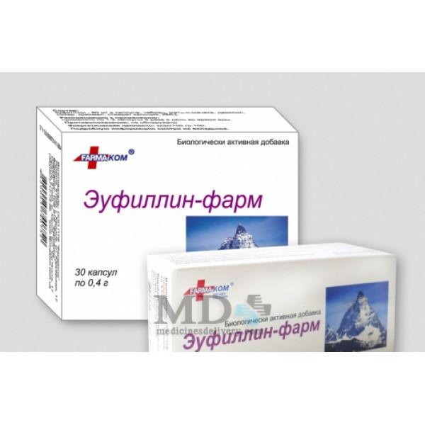 Euphyllin-Pharm capsules 400mg #30