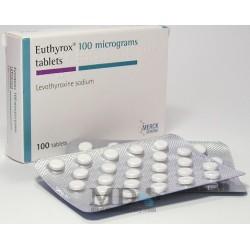 Euthyrox tablets 100mkg #100