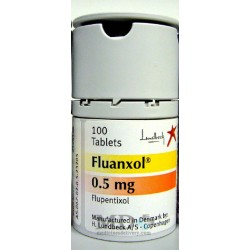 Fluanxol tablets 0.5mg #100