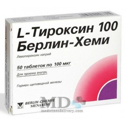 L-Thyroxin tablets 100mkg #50