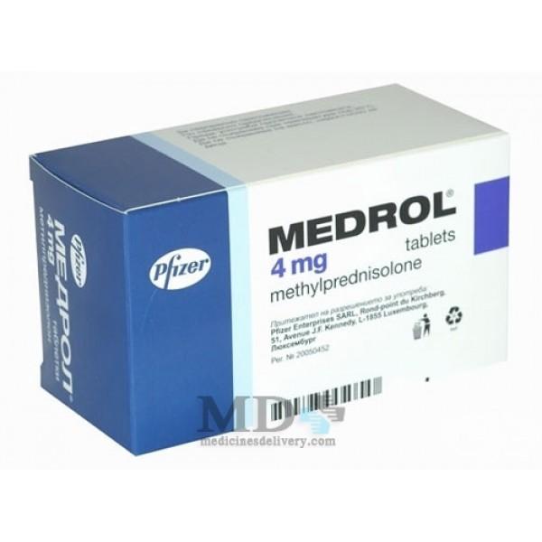 Medrol (Methylprednisolone) 4mg #30