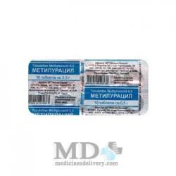 Methyluracil tablets 500mg #10
