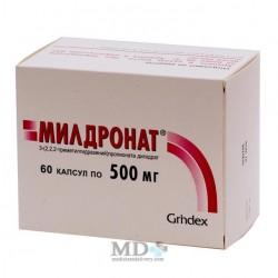 Mildronat capsules 500mg #60