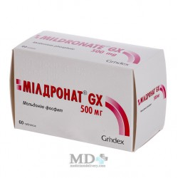 Mildronat GX tablets 500mg #60