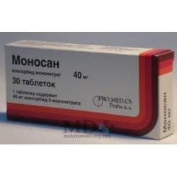Monosan tablets 40mg #30