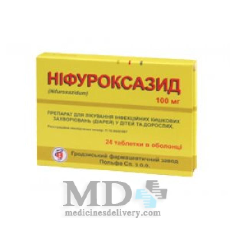 Nifuroxazide (Nifuroxazidum) 100mg #24