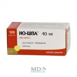 No-spa tablets 40mg #100