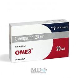 Omez (Omeprazole) 20mg capsules #30