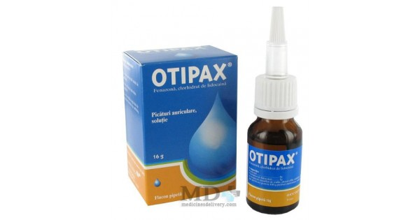 Otipax Ear Drops 16ml Buy Online On Medicinesdelivery Com