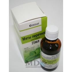 Peppermint tincture (Menthae piperitae tinctura) 25ml