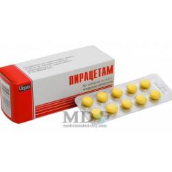 Pyracetam tablets 200mg #60