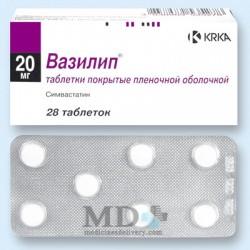 Vasilip 20mg #28